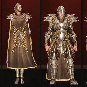 Gold-Laced Set